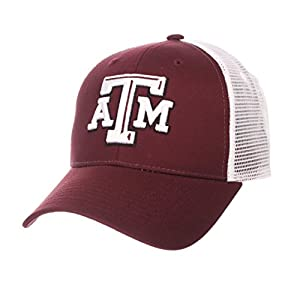 Zephyr Texas A&M Aggies Official NCAA Big Rig Adjustable Hat Cap by 606209 by Zephyr