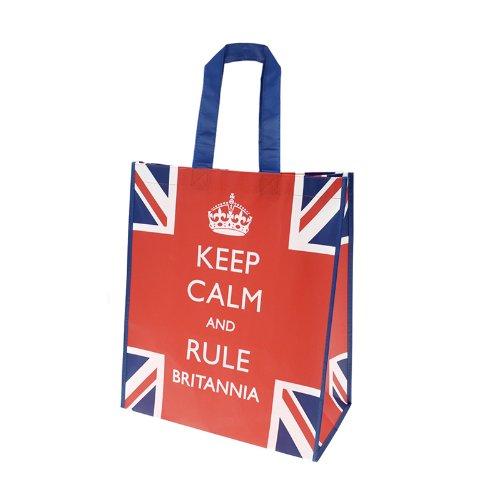 "Bomber Command - Bolsa, diseño con texto ""Keep Calm and Rule Britannia)"