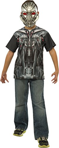 [Rubie's Costume Avengers 2 Age of Ultron Child's Ultron T-Shirt and Mask, Small] (Ultron Halloween Costumes)