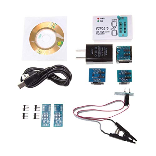 Lvyuanda EZP2010 USB High Speed EEPROM SPI BIOS Programmer Support 24C 25C 93C Burn Block