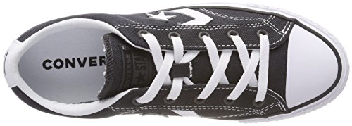 Converse Almost white Adulto Unisex Black almost Ox black Player 049 – Nero White black Sneaker Star rR1Tqxwr