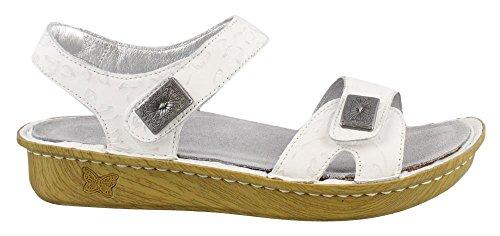 Alegria Vienna Womens Sandal Morning Glory White