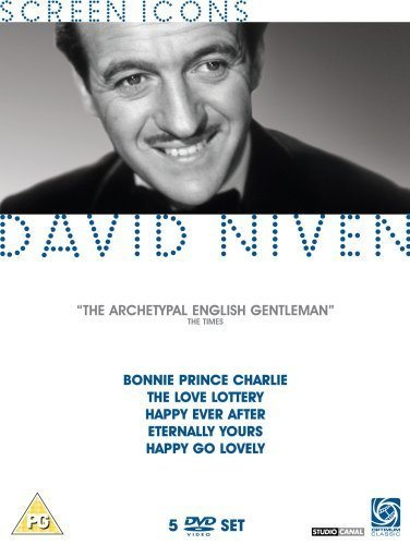 David Niven Collection - 5-DVD Box Set ( Bonnie Prince Charlie / The Love Lottery / Happy Ever After / Eternally Yours / Happy Go Lovely ) ( Toni [ NON-USA FORMAT, PAL, Reg.2 Import - United Kingdom ]