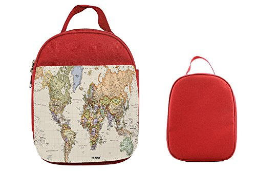 L000178 world map the world design kids toddler school bag l000178 world map the world design kids toddler school bag backpack stationery bag with pocket gumiabroncs Image collections