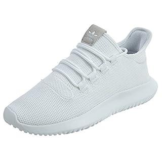 adidas Originals Men's Tubular Dusk Running Shoe, White/Black/White, 12 D(M) US
