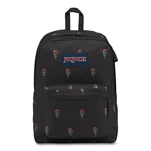 JanSport Superbreak Backpack - Rose Icon - Classic, Ultralight