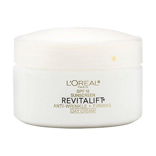 L'Oreal Paris Revitalift Anti-Wrinkle + Firming Day Cream SPF 18 Sunscreen, 1.7 oz.