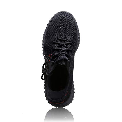 Sneakers Gym Sports Road Black Tennis Womens Knit Shoes Running Hoposport Mens Red p1wS6