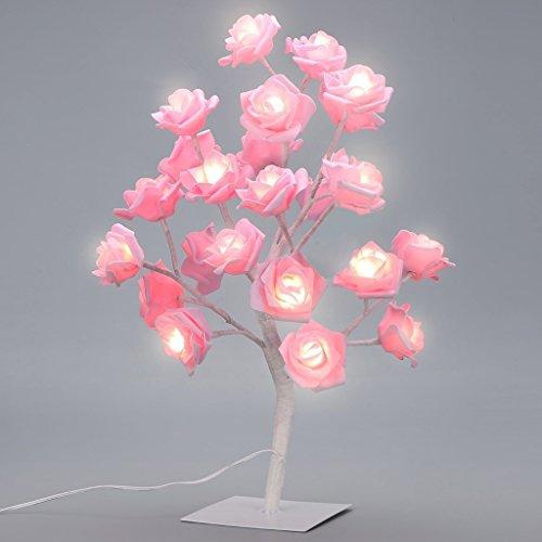 Pink Rose Night Light - 6