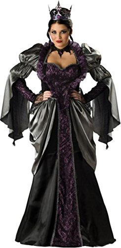 InCharacter Costumes Women'sPlus Size Wicked Queen Costume, Black, -