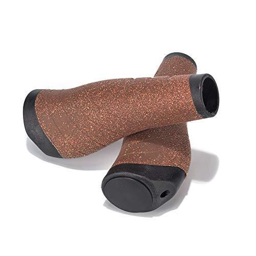 - Weanas New Generation Bike Handlebar Grip Soft Cork Gel Shock Resistance Ergonomics Comfort Design 1 Pair for Bicycle MTB XC FR Cyling
