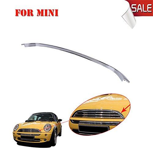 General Mega Chrome Front Bonnet Hood / Trim R55 R56 R57 51132751040 For BMW MINI One / Cooper