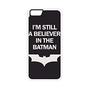 Batman iPhone 6 Plus 5.5 Inch Cell Phone Case White gife pp001_9287998
