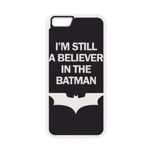 Batman coque iPhone 6 4.7 Inch Housse Blanc téléphone portable couverture de cas coque EBDOBCKCO09694