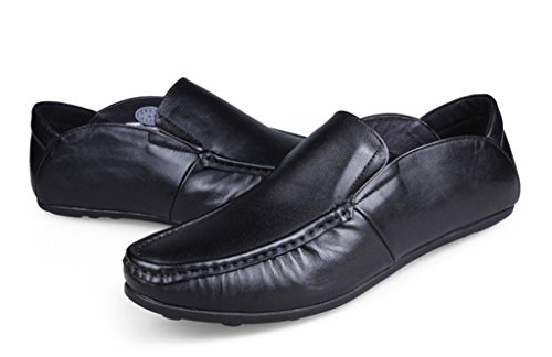 Oxford Dress Minitoo Ruch Casual Loafers Men's Leather Black Walking Driving Training RSRzrx8
