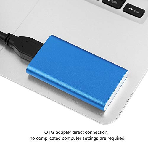 External Hard Drive, 1.8 inches Mini SSD High Speed MSATA USB3.0 Hard Disk for Windows XP / 7/8 / 10, MAC ()