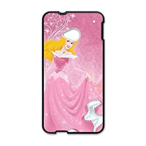 HTC One M7 Cell Phone Case Covers Black Sleeping Beauty Phone cover V92808159