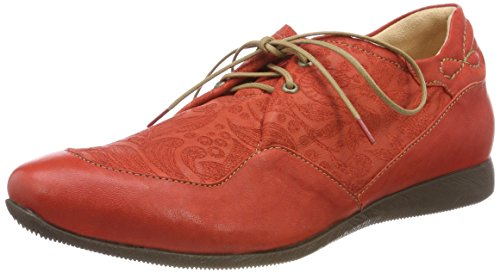 76 Rouge Brogues chilli Femme Raning kombi Think 282094 Iw0Cg