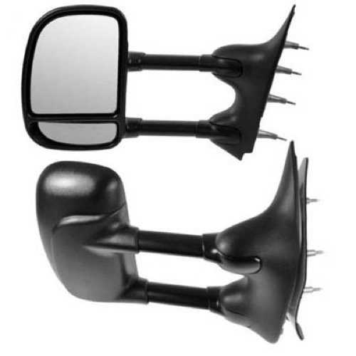 (Go-Parts » Compatible 1992-2000 Ford E-350 Econoline Side View Mirror Assembly/Cover/Glass - Left (Driver) Side 7C2Z 17683 DA FO1320238 Replacement For Ford E-350 Econoline)