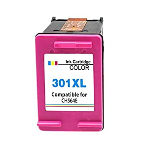 301xl Reemplazo para HP 301 XL 301XL Compatible Cartuchos de Tinta para Impresora HP Deskjet HP Officejet HP photosmart (1 Color)