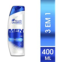 Shampoo Head & Shoulders Men 3 em 1 400ml