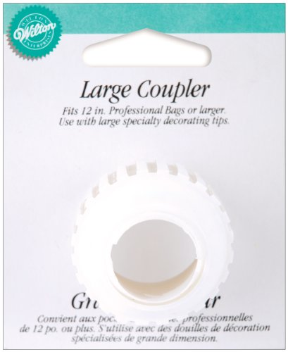 Wilton W4181006 Coupler, Large, 1-Pack ()