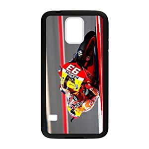 Samsung Galaxy S5 Phone Case Spanish Grand Prix Motorcycle Road Racer Marc Marquez SMB024059599