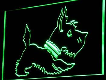 Old Fashioned Scottie Dog Shop LED Sign Neon Light Sign Display i850-g(c)