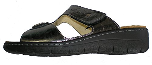 Dr.Brinkmann 701022-9 mujer clogs & mules plata