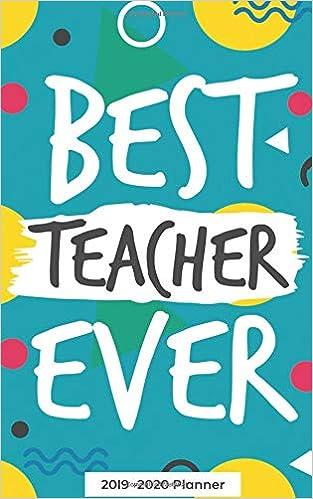 Best Science Books 2020 Best Teacher Ever   A 2019 2020 Planner: Teacher Appreciation