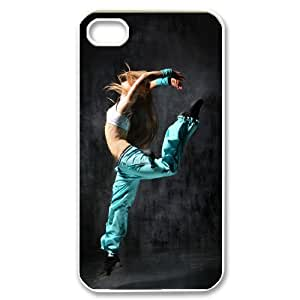 Iphone 4,4S Girl Phone Back Case Custom Art Print Design Hard Shell Protection TY041407