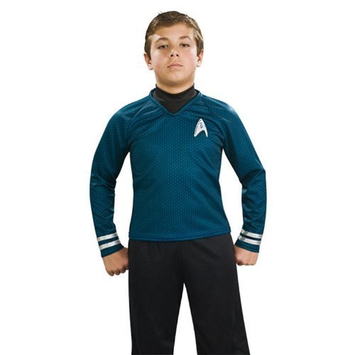 Dlx Childrens Costumes (Costumes For All Occasions RU883592MD Star Trek Child Dlx Blue Costume Medium by Unknown)