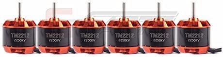 B00MVPRARS GARTT 6 Pcs TM2212-2250KV 260W Motor Outrunner Quadcopter Brushless Motor for multicopter 41li4jVnTvL