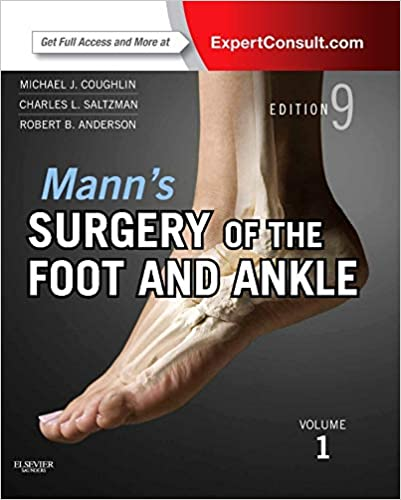 Manns Surgery Of The Foot And Ankle 2 Volume Set Expert Consult Online And Print Coughlin Surgery Of The Foot And Ankle 2v Set 9th Edition