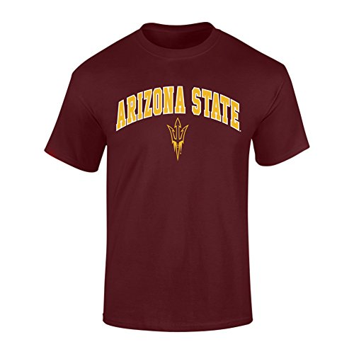 Arizona State Sun Devils TShirt Maroon - (Arizona State University Colors)