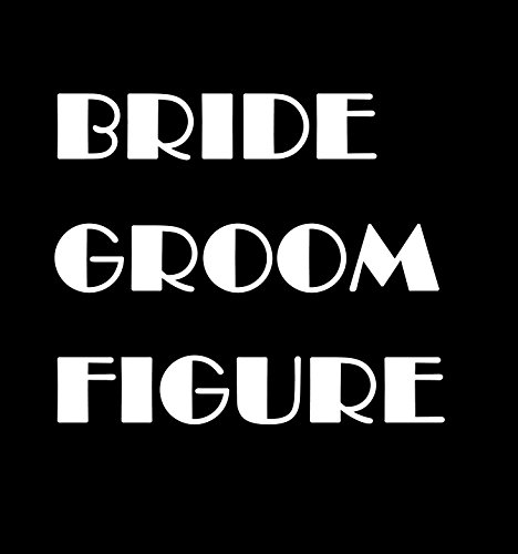 Wedding Acrylic Cake Topper Party Favors Silhouette Decor - 7