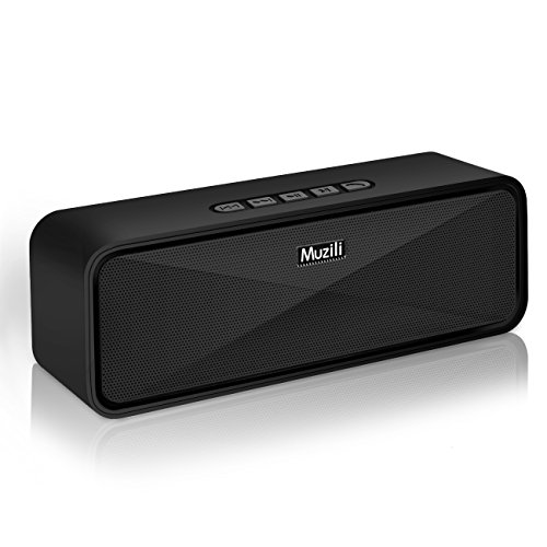Portable-Wireless-Bluetooth-SpeakersMuzili-Outdoor-Portable-Stereo-Speakers-with-HD-Audio-and-Enhanced-Bass-Built-In-Dual-Driver-Speakerphone-Bluetooth-40Handsfree-Calling-TF-Card-Slot