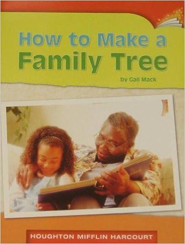 How To Make A Family Tree Gail Mack 9780547252766 Books