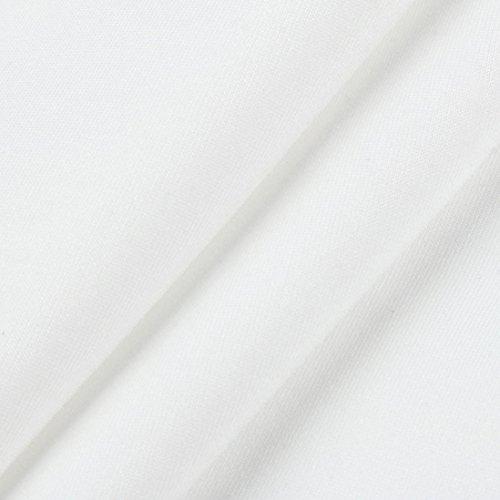 Sexy Barchetta Scollo Abito Mini Dress Donna Maglia Party Lungo Damigella T Shirt Abito Maglietta Cerimonia Festa Aderente Corto Vestito Bianco Da Elegante Blusa Longra wcWFzAq6q