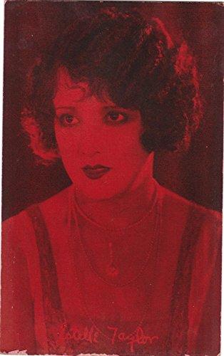 Estelle Taylor, Silent Film Actress Arcade Card Exhibit Supply (Exhibit Arcade)