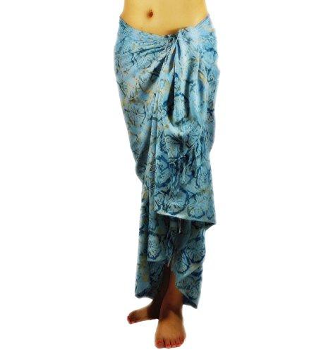 Hand Paint Batik Sarong, Pareo/ Scarf - 9137 By Lotus Resort Wear