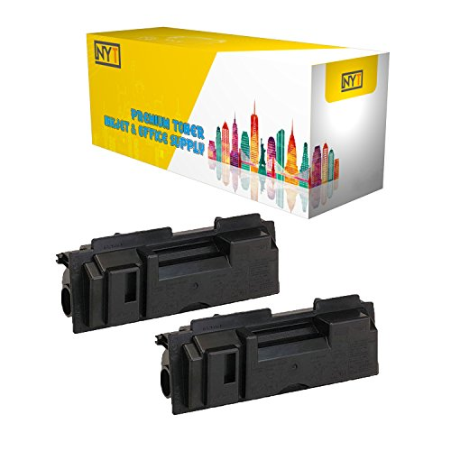 (New York Toner New Compatible 2 Pack TK18 High Yield Toner for Kyocera-Mita - FS 1018MFP | 1020D | KM 1500 | 1820 | 1815 . -- Black)