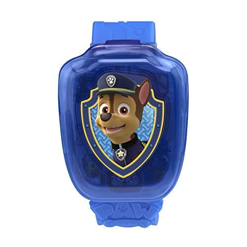 41li8 JWnzL - VTech Paw Patrol Chase Learning Watch, Blue