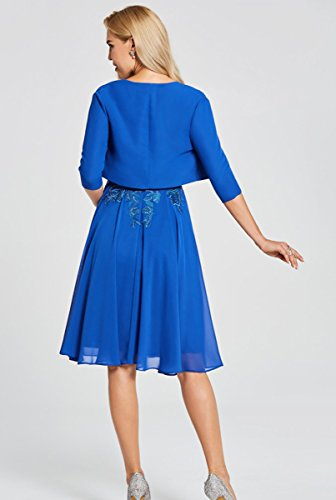 Mangas De Mujer Trapecio Azul Sin Traje Vestir Dressvip Para qTXwHpn