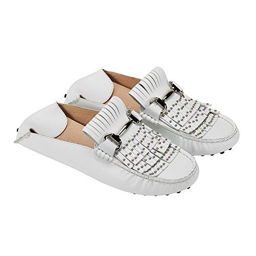 jenn ardor Women's Convertible Loafer Slides Slip-on Mules Slippers Leather Flat Shoes Driving Moccasins by jenn ardor (Image #6)'