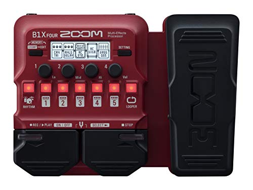 Zoom Multi Effects Pedal B1X FOUR