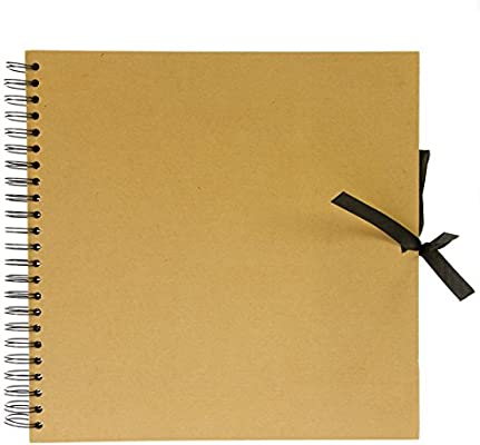 Seawhite Libro con Tapa Dura Wiro Kraft, Cuadrado de 30 cm