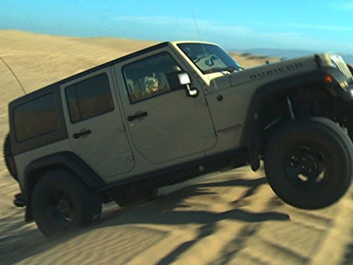 Sand Crawling in a Jeep Wrangler (Rubicon Throttle)
