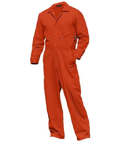 orange coveralls insulated - 1