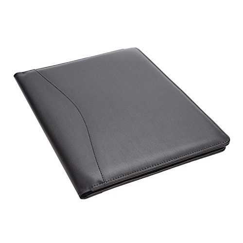Royce Leather Royce Leather Aristo Padfolio, Matte Black -